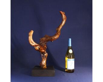 Natural Wood Sculpture, Forest Sculpture , Driftwood Sculpture: 19008 River Spirit