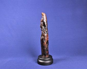 Natural Wood Sculpture, Forest Sculpture , Driftwood Sculpture: 19049 Forest Totem