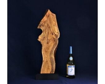 Natural Wood Sculpture, Forest Sculpture , Driftwood Sculpture: 19011-40 Fluid Form