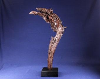 Natural Wood Sculpture, Forest Sculpture , Driftwood Sculpture: 19019 Pterodactyl