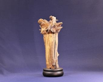 Wood Sculpture, Forest Sculpture , Driftwood Sculpture : 15099 Shooting Star