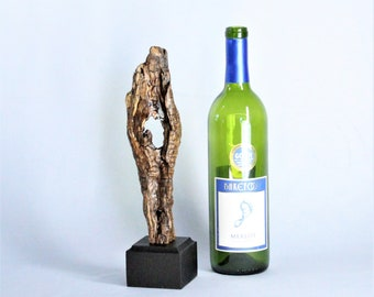 Natural Wood Sculpture, Forest Sculpture , Driftwood Sculpture: 21006 Ancient Oracle