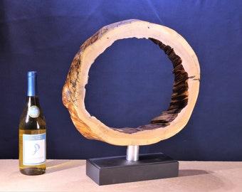 Natural Wood Sculpture, Forest Sculpture , Driftwood Sculpture: 19002 Continuity