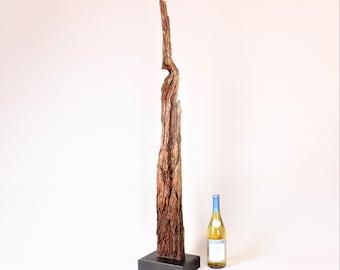Wood Sculpture, Forest Sculpture , Driftwood Sculpture : 18075 Patriarch