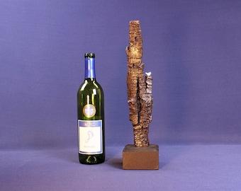 Natural Wood Sculpture, Forest Sculpture , Driftwood Sculpture: 19042 River's Gift