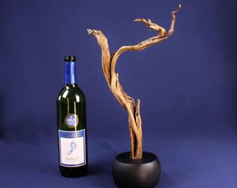 Natural Wood Sculpture, Forest Sculpture , Driftwood Sculpture: 19078 Zen