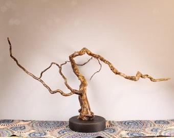 Wood Sculpture, Forest Sculpture , Driftwood Sculpture : 18016 River Reflections