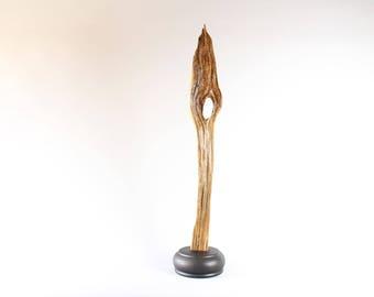 17060 Wood Sculpture, Forest Sculpture , Driftwood Sculpture : 17060 Forest Sentinel