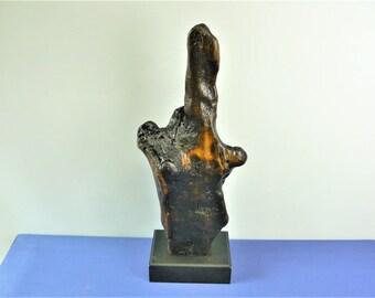 17046 Wood Sculpture, Forest Sculpture , Driftwood Sculpture : 17046 Forest Elemental