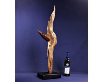 20003 Natural Wood Sculpture, Forest Sculpture , Driftwood Sculpture: 20003 That-A-Way