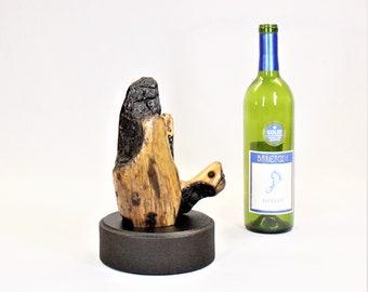 21018 Natural Wood Sculpture, Forest Sculpture , Driftwood Sculpture: Stumped
