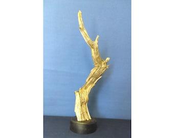 16041 Wood Sculpture, Forest Sculpture: 16041 Forest Seeker