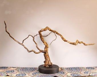 18016 Wood Sculpture, Forest Sculpture , Driftwood Sculpture : 18016 River Reflections