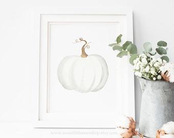 pumpkin print etsy