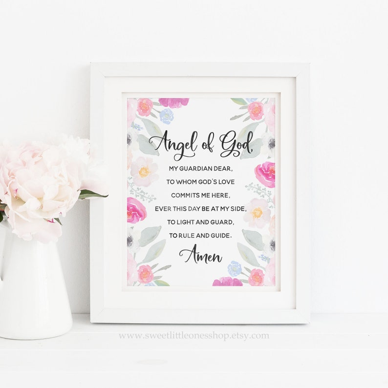 picture relating to Guardian Angel Prayer Printable identified as Angel of God Prayer Printable Wall Artwork Mother or father Angel Prayer Print Father or mother Angel Print Angel of God Prayer Print Women of all ages Printable Prayer Artwork