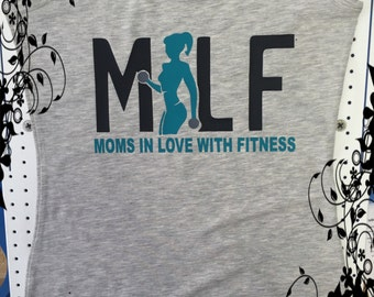 FREE SHIPPING Moms in Love with Fitness Tank