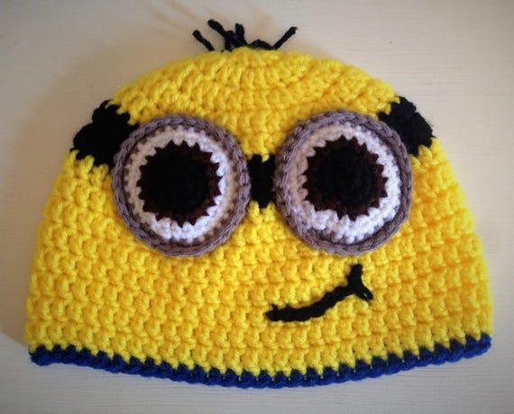 Minion Hat Minion Beanie Despicable Me Minions Kids Minion Etsy