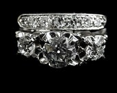 THREE DIAMOND RING 3757ja4556