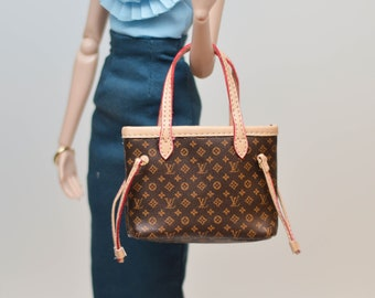 af6c7214247 Luxury Miniature Doll Handbag  Miniature luxury Doll Purse Barbie Blythe FR  Purses Blythe Doll OMD C42