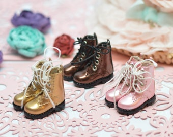 0476a6f895ba Metallic Color Boots for Blythe  Boots for Barbie Azone Licca Pullip OMD B61