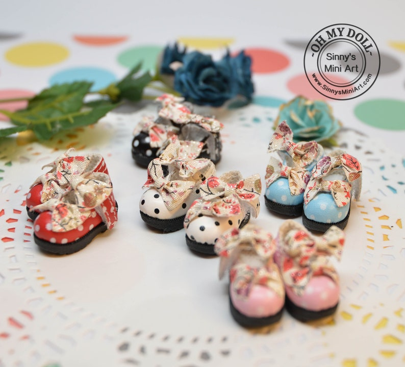 ae18f98722ec Shoes for Blythe  Boots for Barbie Azone Licca Pullip OMD B60