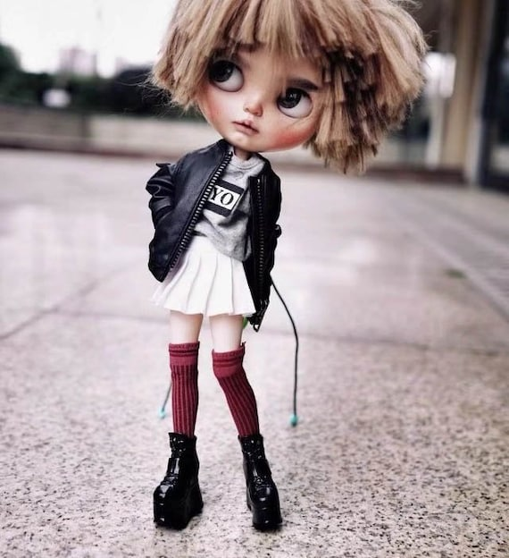 147b3853013b Boots for Blythe Barbie  Pullip  Azone Licca BJD Boots OMD B58