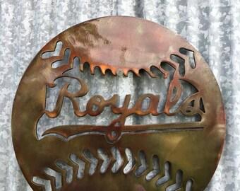 Kansas City Royals, Royals Baseball, Baseball, KC Royals Wall Hanging, KC, Baseball, Royals, Dad, Father, Christmas, Gifts