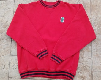 Vtg 90s Basketball Crewneck Sweatshirt By Peanut Butter And Etsy