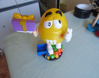 m&ms candy dispenser great toy gift work