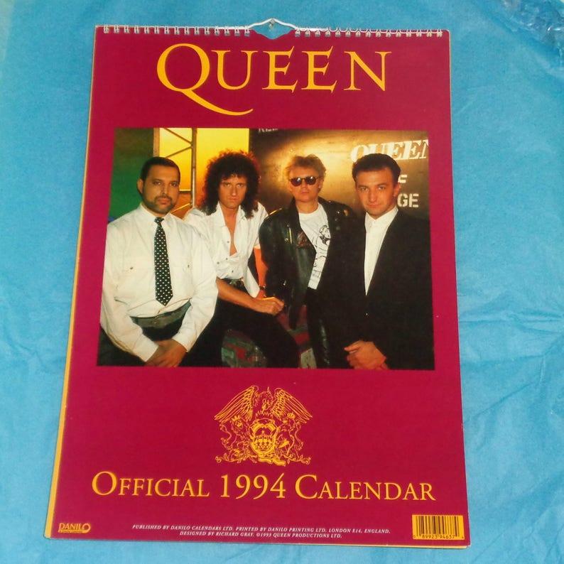 Freddie Mercury 2019 Desktop Kalender Büro Queen