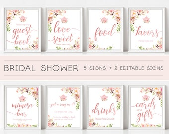 36927351f0fb Bridal shower signs