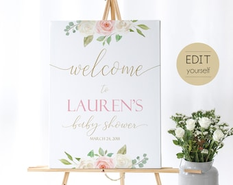 Welcome Baby Shower Etsy