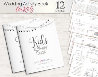 Wedding activity book | Etsy
