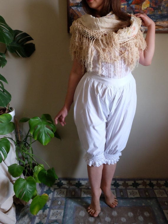 Antique Bloomers 1800s 1900s Pantaloons Pantalette