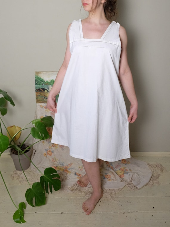 Antique Nightgown 1920s 30 40s Vintage Edwardian N