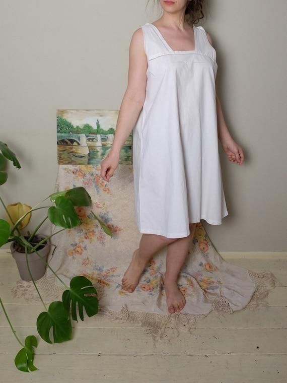 Antique Nightgown 1920s 30 40s Vintage Edwardian … - image 5