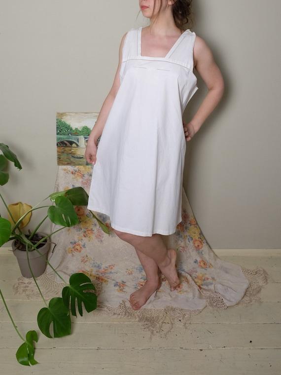 Antique Nightgown 1920s 30 40s Vintage Edwardian … - image 3