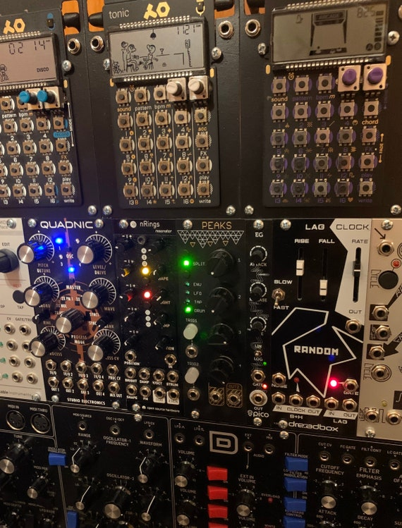 Teenage Engineering Pocket Operator Eurorack / Modular Mounting Plate Adapter