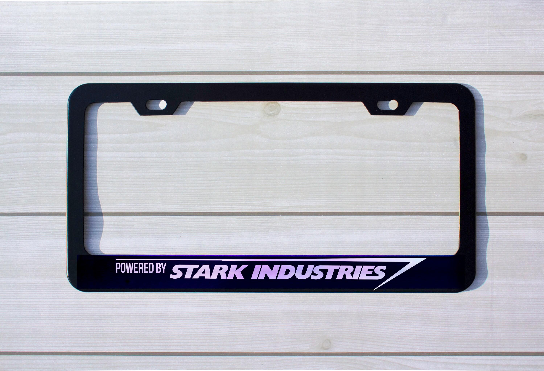 Stark Industries inspiriert Nummernschild Rahmen | Etsy