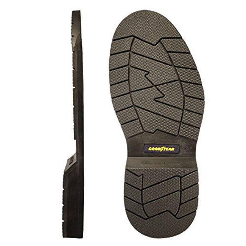 5098d2b620 Goodyear Telos Full Sole Replacement Shoe Repair Color Black