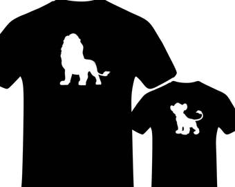 2cff4406 Daddy and Me Outfits, Lion King Shirt, Daddy and Son, Matching Disney Shirts,  Disney, Disney Family Shirts, Dad Life, Fathers Day Gift