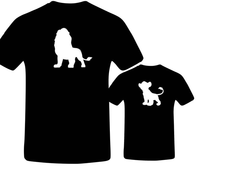 43159bb2 Daddy and Me Outfits Lion King Shirt Daddy and Son Matching | Etsy