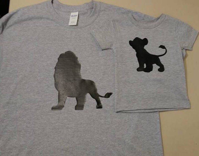 668ecb66 Daddy and Me Outfits Lion King Shirt Daddy and Son Matching | Etsy