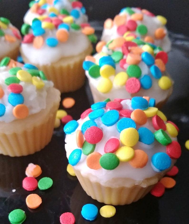 Buttercream Vanilla Cupcake Wax Melts Food Shaped Scented
