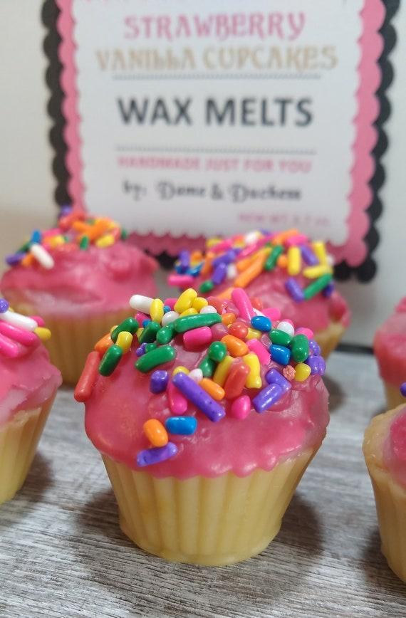 Strawberry Vanilla Cupcake Wax Melts Scented Tarts