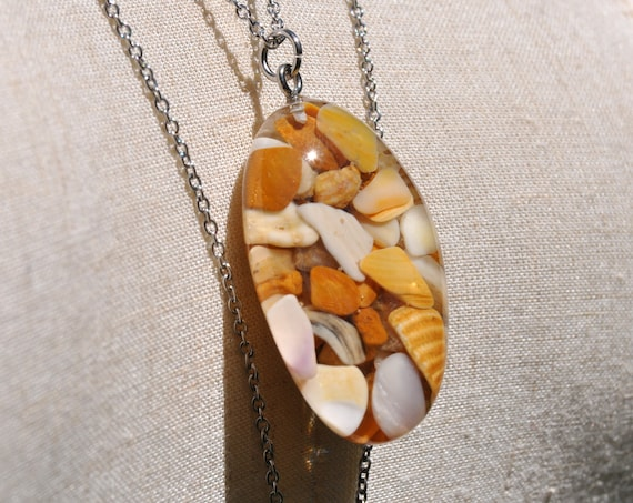 High Tide Pebble Necklace