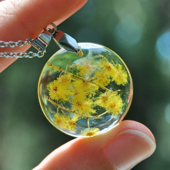 Round Wattle Necklace