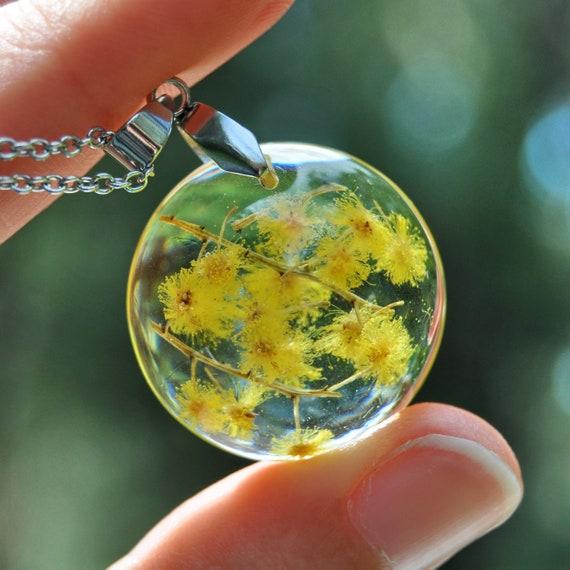 Round Wattle Necklace