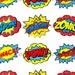 Cathi Basler reviewed SUPERHERO STICKERS, Superhero CLIPART,  Superhero Printables, Superhero Party, Superhero Decorations, Superhero Word Bubbles
