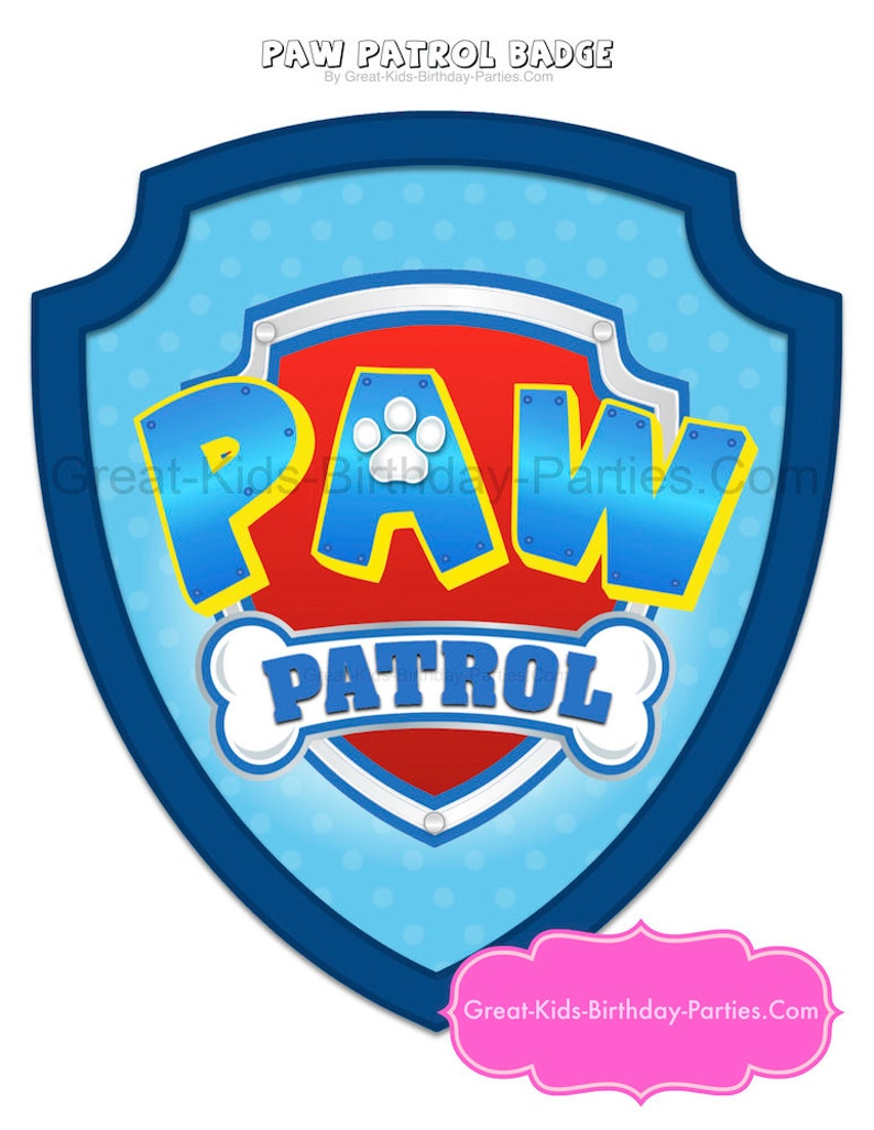 photograph about Paw Patrol Badges Printable titled PAW PATROL BADGE - Paw Patrol Birthday - Paw Patrol Decorations - Paw Patrol Online games - Paw Patrol Get together Elements - Paw Patrol Cupcake Toppers